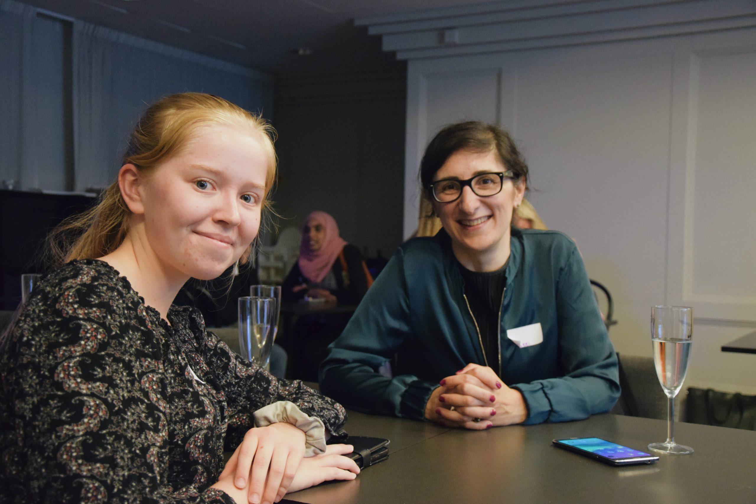 Mentor Aseel Berglund för mentorskapsprogrammet 2019