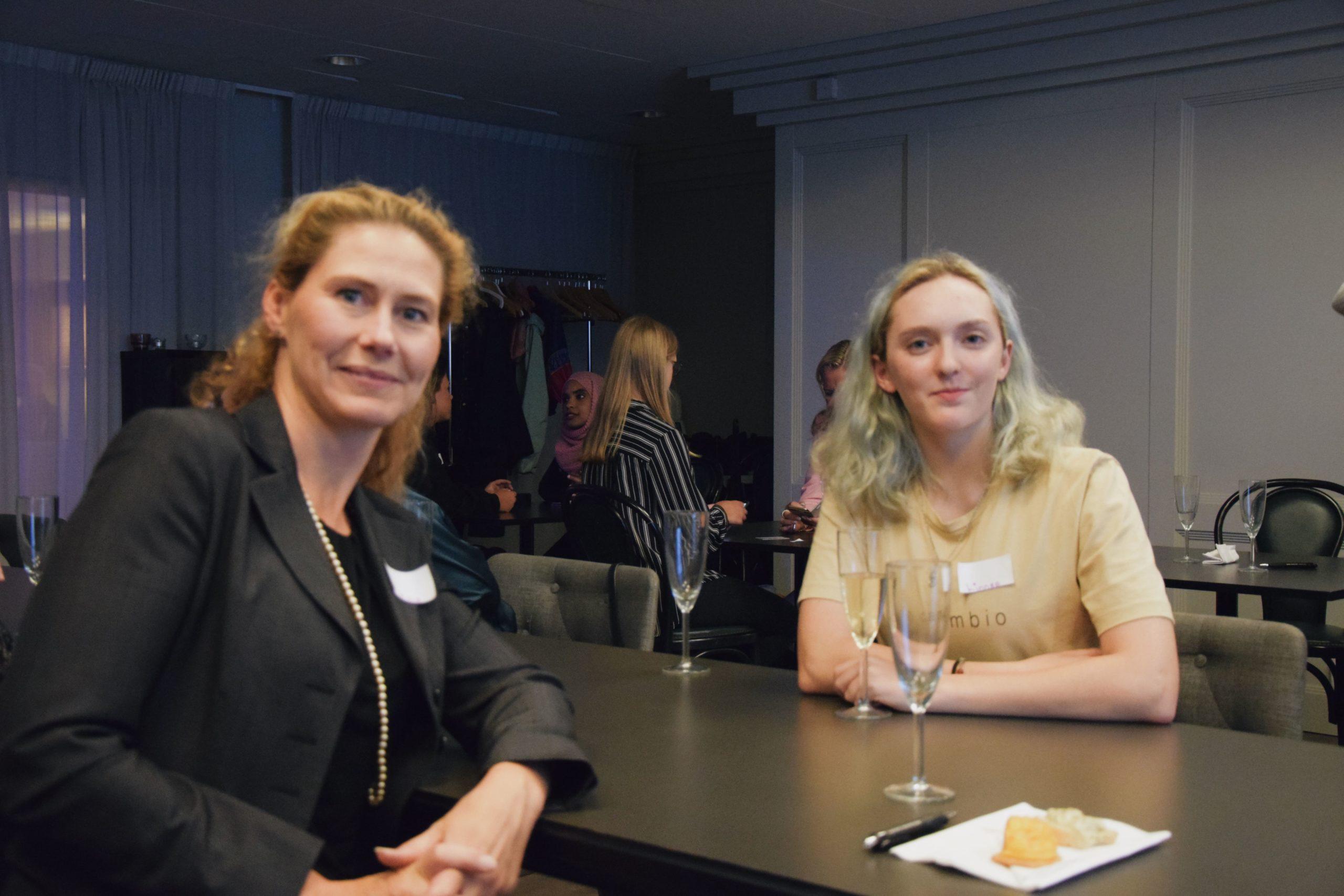 Mentor Helene Ankarswärd för mentorskapsprogrammet 2019
