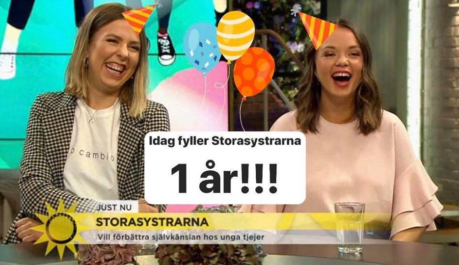Storasystrarna firar 1år