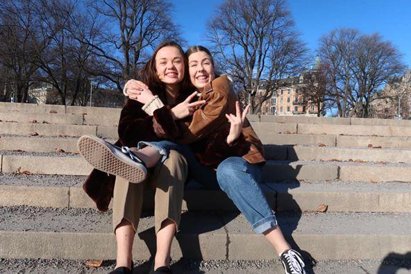 Storasystrarnas grundare Malin och Linda