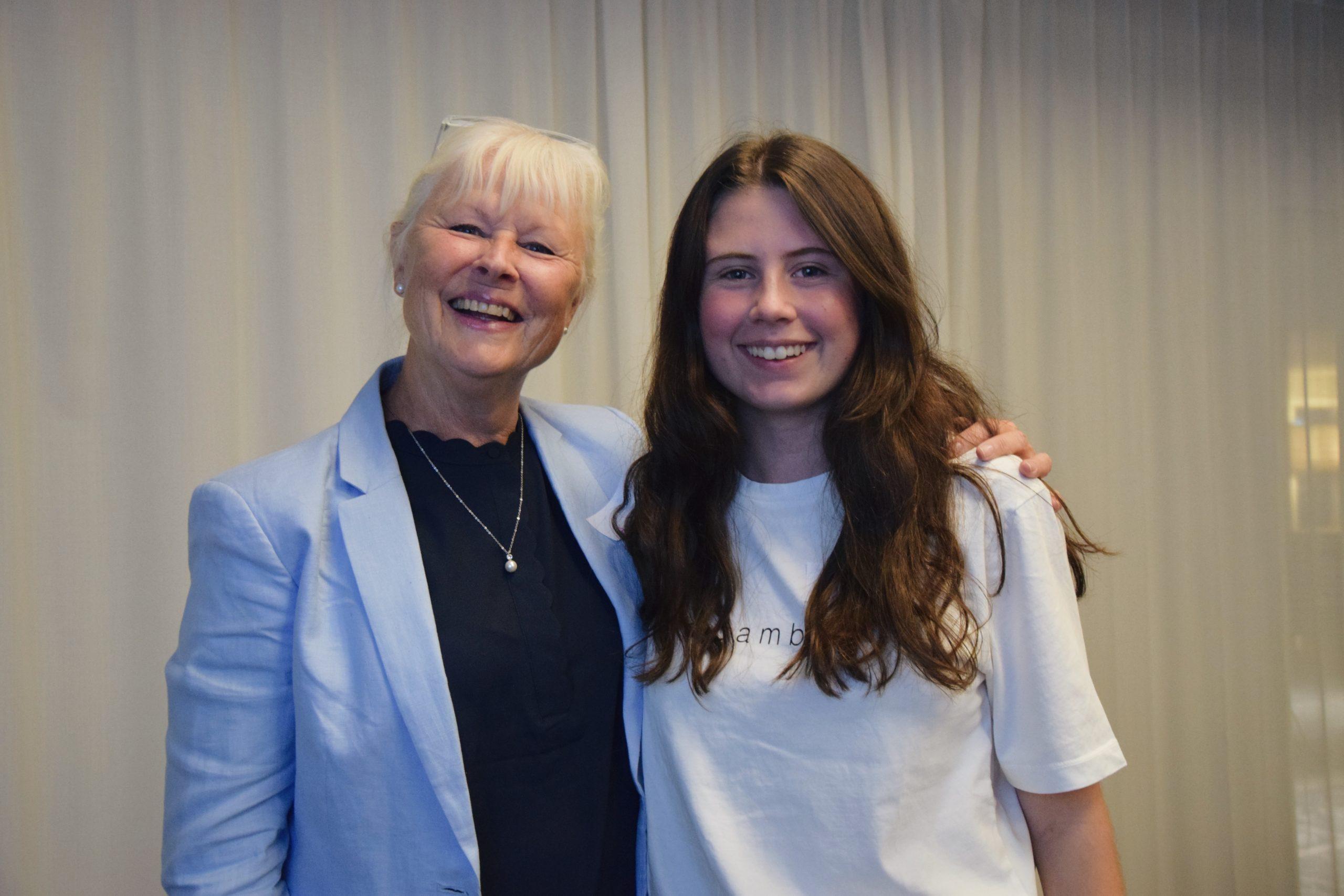 Mentor Sofia Malander för mentorskapsprogrammet 2019