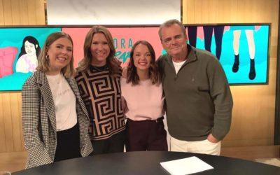 Drömmen om TV4 Nyhetsmorgon blev sann!